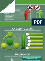 La Deontología Exposición