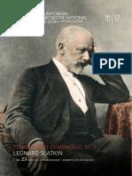 Prog Tchaikovski Etudiants