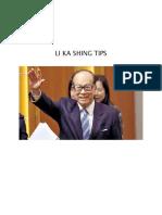 Li Ka Shing Motivation