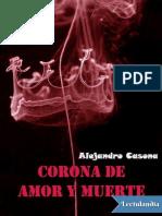 Corona de Amor y Muerte - Alejandro Casona