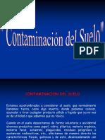 Trabajo de Contaminacion Del Suelo