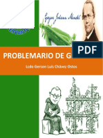 Problemario de Genetica 2016-1