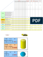 Formulas Para Areas y Volumen