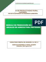 1.- Modulo de Producción de Cultivos Anuales Agricultura Protegida
