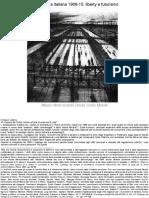Architettura Italiana 1906-15. Liberty e Futurismo-libre