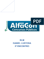 Alfacon Agente Administrativo Da Policia Federal Pf Raciocinio Logico i Daniel Lustosa 5ENCONTRO