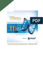 11º Festival de Cortometrajes de Lima - FILMOCORTO 2017
