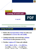 13. Liming of Acid Soils