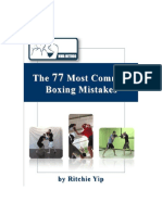 The 77 Most Common Boxing Mistakes