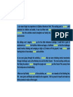 Reading Sample Text