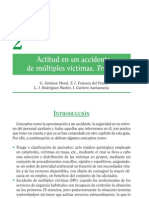 Actitud en un accidente de mu¦ültiples vi¦üctimas. Triage