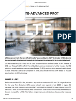 What is LTE-Advanced Pro