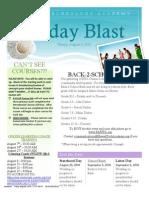August 6, 2010 BLAST