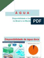 09 - ÁGUA - Disponibilidade e Usos.2017