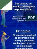 Ser Pastor, Un Desafío, Privilegio y Responsabilidad IBE Callao