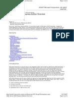 SQL Express Whitepaper