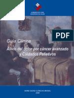02 - Guia Clinica Alivio Del Dolor y Cuidados Paliativos Por Cancer - 2009