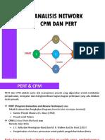 10. Analisis Network CPM Dan PERT