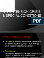 Hypertension Crisis