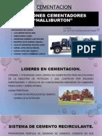 Camiones Cementadores Halliburton