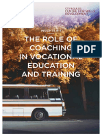 Brown 2013 Insights the Role of Coaching in Ve