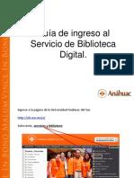 Guía de Acceso a Biblioteca Anahuac