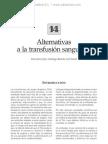 Alternativas a la transfusio¦ün sangui¦ünea