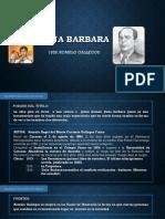 Analisis Literario de la obra Doña Barbara