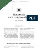 Hemostasia en la cirugi¦üa cardiaca