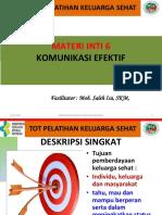 Komonikasi Efektif KS 2017 Saleh