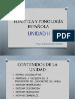 Fonética y Fonología Española Unidad II (4)