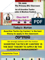 2- Theories of Assertive Tactics