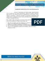 Evidencia 11 - Los Pro y Los Contra Del Proceso de Globalización