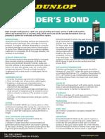 Dunlop Builder's Bond 0114