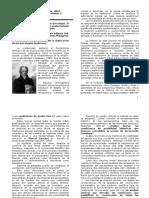 Un Modelo Para Lo Pensable en Psicología. El Papel de La Neurofisiología y El Evolucionismo en Los Comienzos de Las Psicologías - Modulo 3