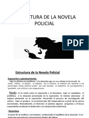 Estructura De La Novela Policial Detective Narración