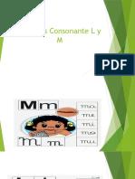Lecturas Consonante L y M
