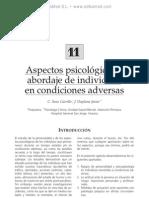 Aspectos psicolo¦ügicos y abordaje de individuos en condiciones adversas