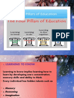 4 Pillars of Learning