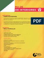 Programa de Diseño de Interiores