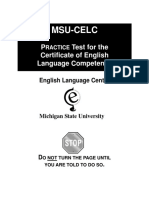 Practice Celc Test 1-23-09
