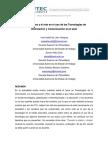Los Docentes y El Reto en El Uso de Las Tecnologías de Información y Comunicación en El Aula