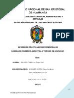MODELO DE Informe de Practicas Pre PROfecionales