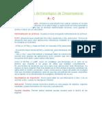 Diccionaio Terminologico de Dream Weaver