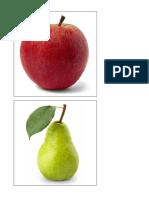 Láminas de Frutas (1)