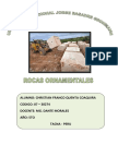 Rocas Ornamentales