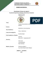 Informe de La PracticaFreire,Basantes,Sandoya
