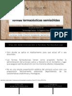 Formas Farmaceutica Semisolidas