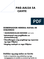 Ang Pag-Aalsa Sa Cavite