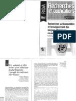 BERTHELLE, Raphael _ LAMBELET, Amelia _ SCHEDEL, Larissa S. Effets Souhaités Et Effets Pervers d'Une Didactique Du Plurilinguisme - l'Exemple Des Inférences Inter-langues_0
